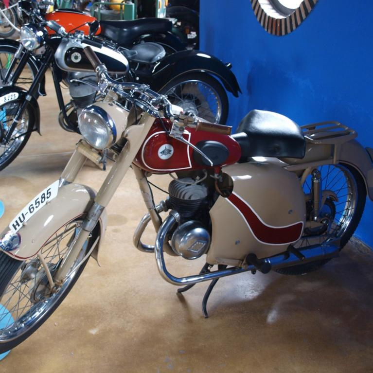 Museum of Classic Motorcycles and Cars